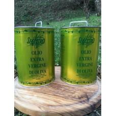Olio Extravergine di Oliva Segestro - 2 lt. -  Confezione doppia