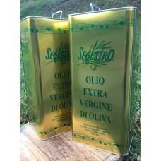 Olio Extravergine di Oliva Segestro - 5 lt. - Confezione doppia