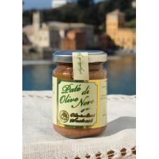 Paté di olive 130 gr - Confezione in vetro - vasetto singolo