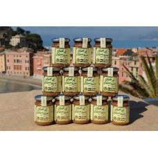 Paté di olive 130 gr. - Confezione in vetro - Cartone da 12 vasetti