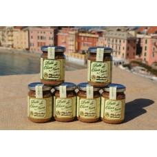 Paté di olive 130 gr - Confezione in vetro - Cartone da 6 vasetti