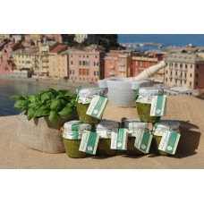 Pesto Genovese 180 gr - Confezione in vetro - Cartone da 6 vasetti