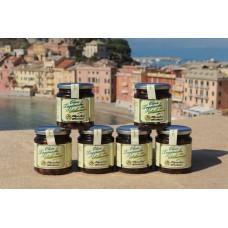 Olive taggiasche in salamoia 250 gr -  Confezione in vetro - 6 vasetti